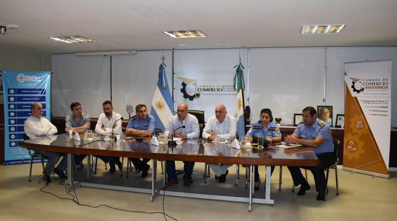 """Reunión ampliada por seguridad y presentación del operativo """"Felices Fiestas"""""""