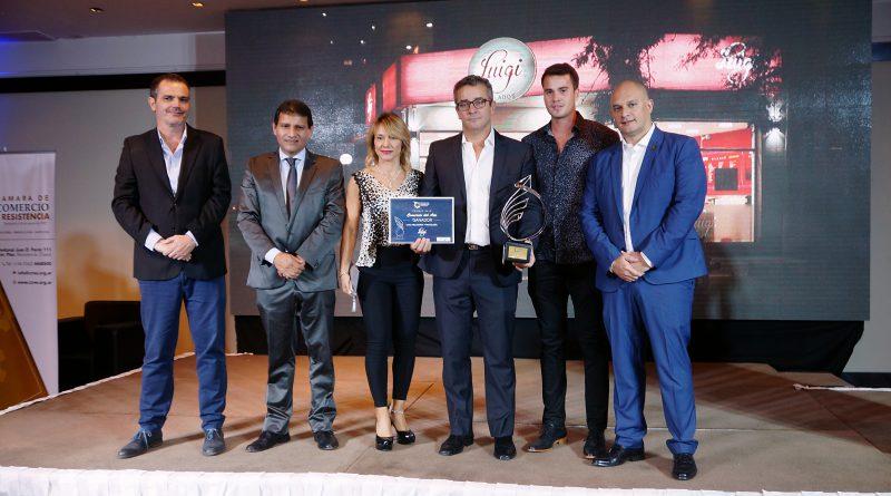 Luigi Heladería y Pastelería resultó ganadora como Comercio del Año 2018