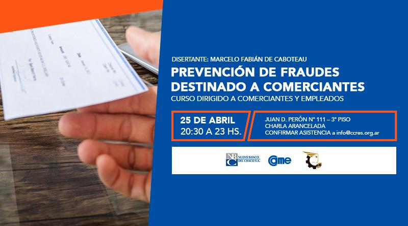 Prevención de Fraudes destinado a Comerciantes