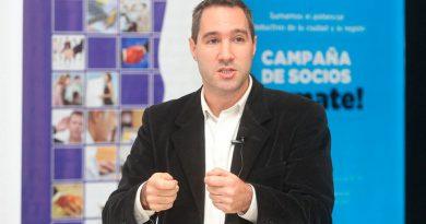Damián Di Pace dará una conferencia por el Día de las Pymes