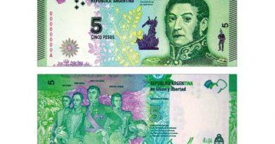 Billetes de $5 dejarán de estar en circulación