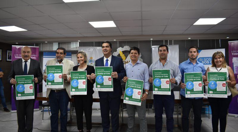 Junto a FeChaco y el Gobierno provincial, lanzamos la Canasta Escolar 2020