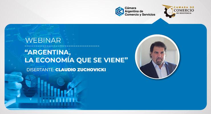 Claudio Zuchovicki disertará sobre la economía que se viene para Argentina